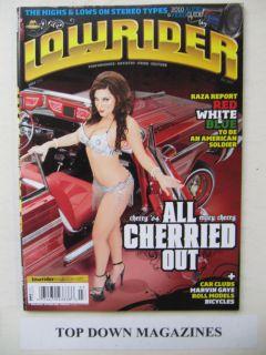 Lowrider Magazine 2010 Trino Alfaro 1964 Chevy Impala SS Tracy CA