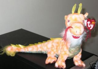 Ty LOONG the Dragon Beanie Baby ~ Asia Exclusive ~ MINT TAGS ~ RETIRED