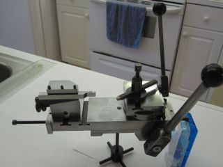 Double Tool Cross Slide Watchmaker Lathe Tools for Boley Lorch