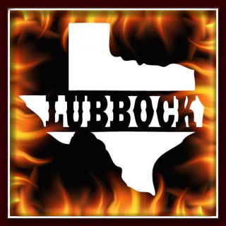 Lubbock Texas State Airbrush Stencil Template Harley Paint New Design