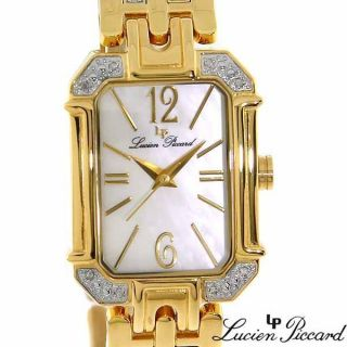 Lucien Piccard Amazing Swiss Ladies Diamond Watch