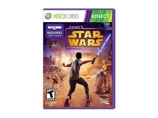 Star Wars Kinect Xbox 360 Game LucasArts