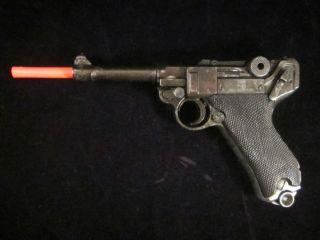 Vinage WWII German P 08 Lugar Parabellum Replica oy Gun W Clip