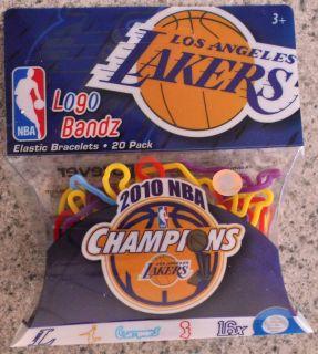 Logo Bandz La Los Angeles Lakers 2010 NBA Champions New