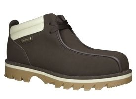 Lugz Mens Pathway Work Boots Chocolate Brown Leather MPTWD 204