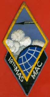 Nam Era USAF U s Air Force 18th Military Airlift Squadron Mac Patch