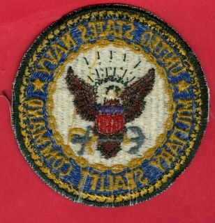 Lot of 10 U s Navy Militrary Sealift Command Patches