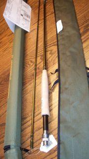 Cabelas Traditional II Fly Rod 9ft 2pc 5wt case PLUS 10 yr Warranty