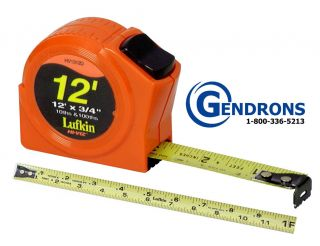 Lufkin HV1312D 12 Tape Measure Surveying Engineering Topcon Sokkia
