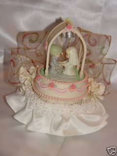 Precious Moments Couple Wedding Cake Topper Musical