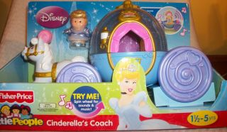 Fisher Price Little People Princess Cinderellas Coach