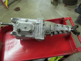 21 Muncie 4 Speed Manual Transmission Completely Rebuilt All Numbers