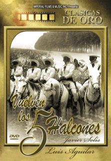 Halcones DVD New Javier Solis Luis Aguilar Clasicas de Oro