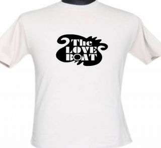 The Love Boat Tee Shirt T 80s Pacific Princess Retro