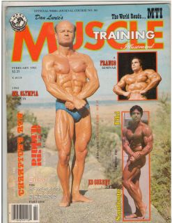 Muscle Training Dan Lurie Bodybuilding Fitness Mag Clarence Bass