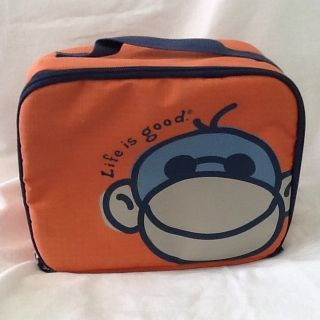 Life Is Good Monkey Lunch Box