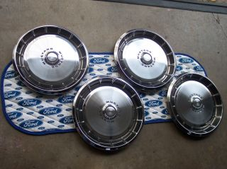 1971 Ford Mustang Wheelcaps Wheelcovers Hubcaps Brand New Takeoffs OEM