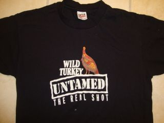 Turkey Kentucky Whiskey Liquor Untamed Real Shot T Shirt M L