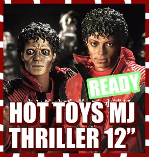 HOT TOYS M ICON MICHAEL JACKSON MJ THRILLER WERECAT 1 6 MISB NEW READY