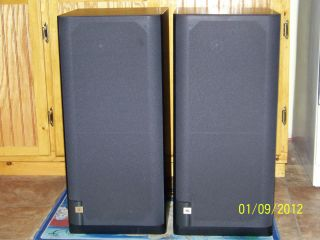 JBL LX 500 AUDIOPHILE QUALITY FLOOR STANDING SPEAKERS IN MINT