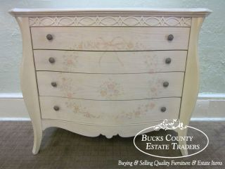 Lexington Lynn Hollyn at Home White Wash Paint Decorated French Style