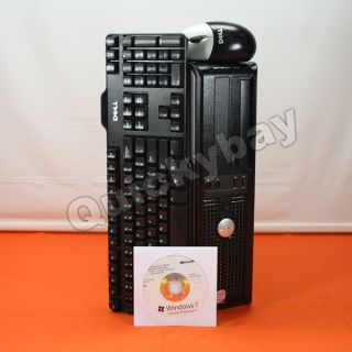 Fast Dell Optiplex 755 Refurbished Desktop Core 2 Duo 2GB 80GB Windows