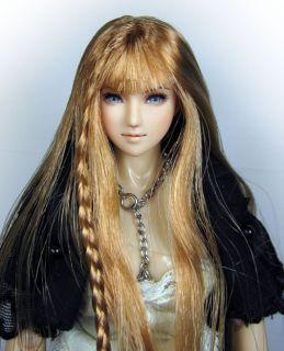 Luana 12 1 6 OOAK CY Girl Obitsu Custom Figure Head Repaint by Yu