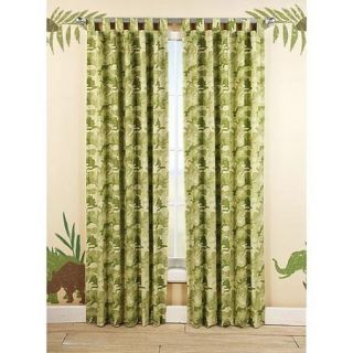 Quest Jungle Green Camouflage Boys Bedroom Curtain Panels 84""