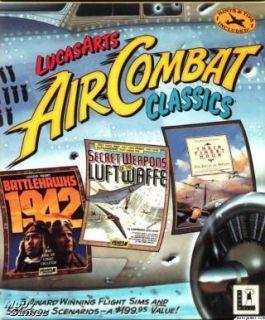 LucasArts Air Combat Classics PC 3 Simulation Games