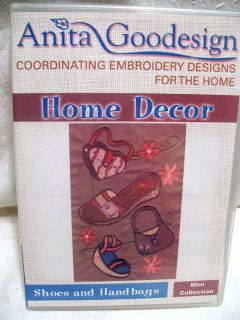 Machine Embroidery Designs Anita Goodesign Shoes and Handbags