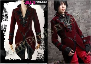Goth Visual Medieval Emperor Frances Tuxedo Suit 323 R