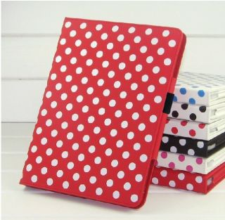 Dot PU Leather Case Cover Stand for  Kindle Fire HD 8 9