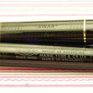 Vintage Mabie Todd Swan Leverless L205 60 Fountain Pen Broad