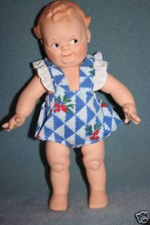 Kewpie Cameo Lee Middleton Rose Oneill Scootles Doll