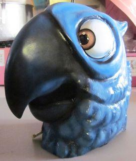 Parrot Fiberglass Mascot Costume Head Adult Character Costume