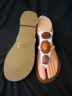 Girls White Sandal US Shoe Size Youth 9 4 Link