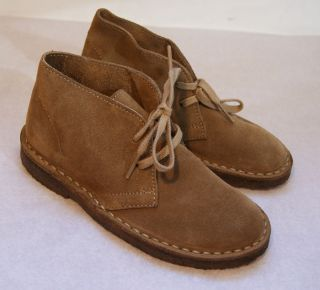 Crew Crewcuts $88 Kids Suede MacAlister Boots Size 5