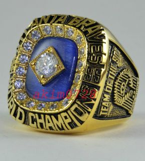 1995 Atlanta Braves Ring Greg Maddux World Series Championship