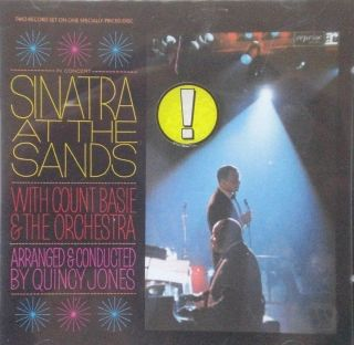 Frank Sinatra at The Sands with Count Basie Reprise CD