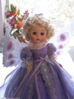 Madame Alexander 8 Lavender Sweet Harmony Angel Fairy w Blonde Curls