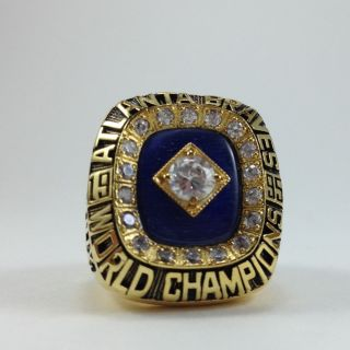 1995 Atlanta Braves Championship World Series Ring Greg Maddux