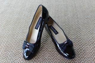 Women's Madeline Stuart Collection Black Patent Pumps Shoes Size 8 5