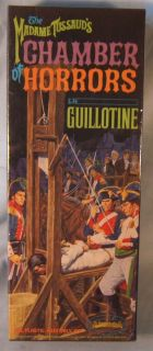 Aurora Original 1964 Madame Tussauds Guillotine Model Kit Mint SEALED