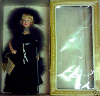 Vintage 80s Effanbee Large Mae West Doll Original Box