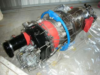 Walter M601 B Turbine Engine No Logs