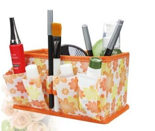 Cosmetic Storage Bag Box Case Pen Stationery Desk Organizer