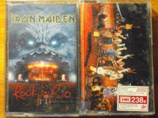 Iron Maiden Rock in Rio Thai 2 Cassette New Seal