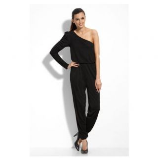 Maggy London One Shoulder Jersey Jumpsuit  Retail Price $150