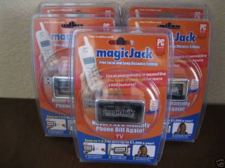 Magic Jack Phone Magicjack in Factory SEALED Box New