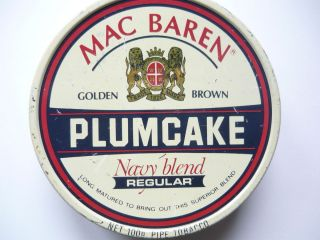 Vintage Mac Baren Tobacco Tin Box